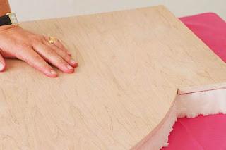 Como hacer y tapizar un cabecero aprender hacer - Telas para tapizar cabeceros ...