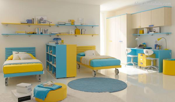 Gambar contoh ruang istirahat anak