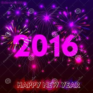 dp bbm happy new year 2016 kembang api keren