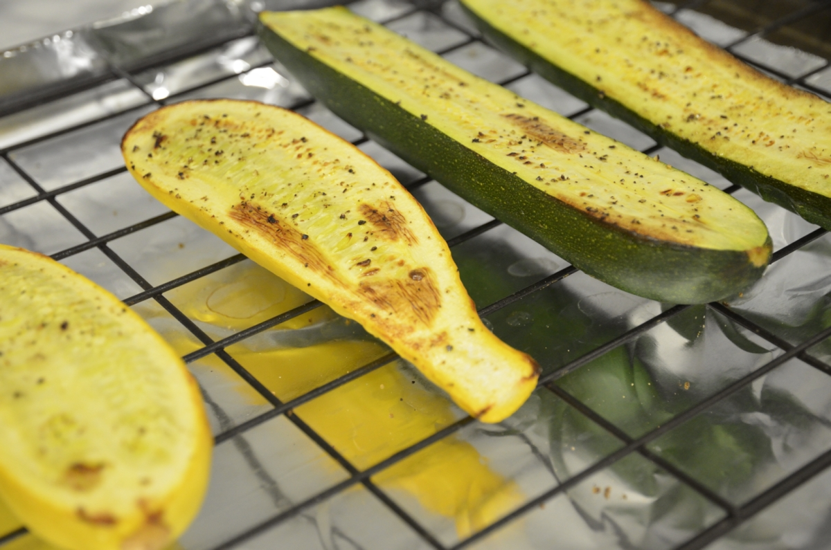 Broiled Zucchini Recipes — Dishmaps