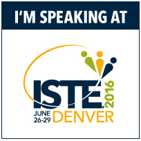 Meet me at ISTE 2016!