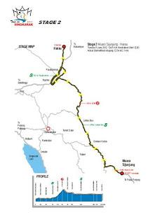 etape 2 tour de singkarak 2012
