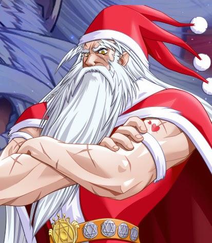 Anime Santa Claus
