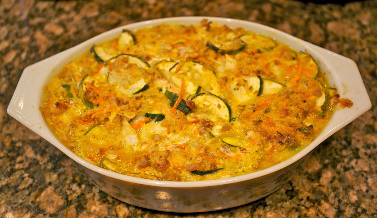 Maryland Crab & Vegetable Casserole