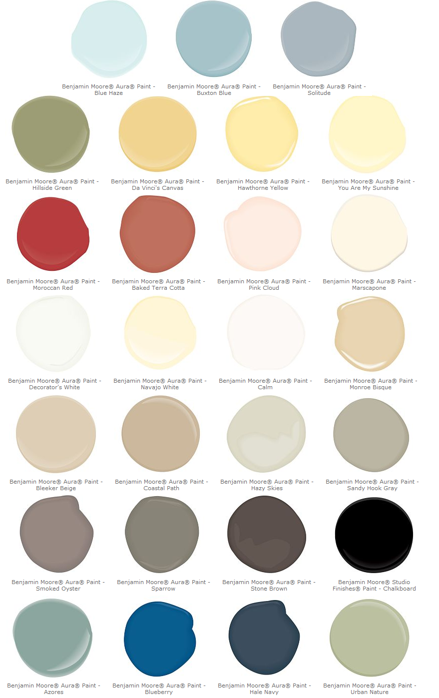 Bedroom Paint Colors on 2017 benjamin moore colors