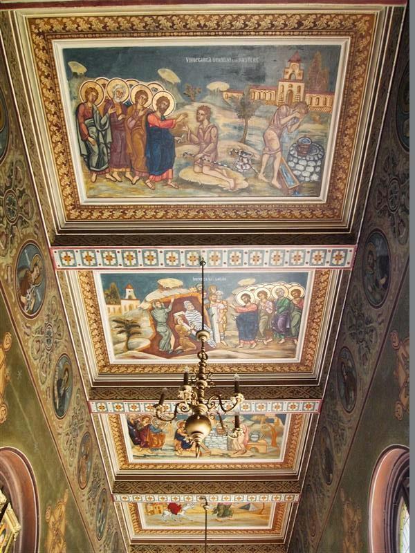 Hall del palacio del Monasterio de Curtea de Arges