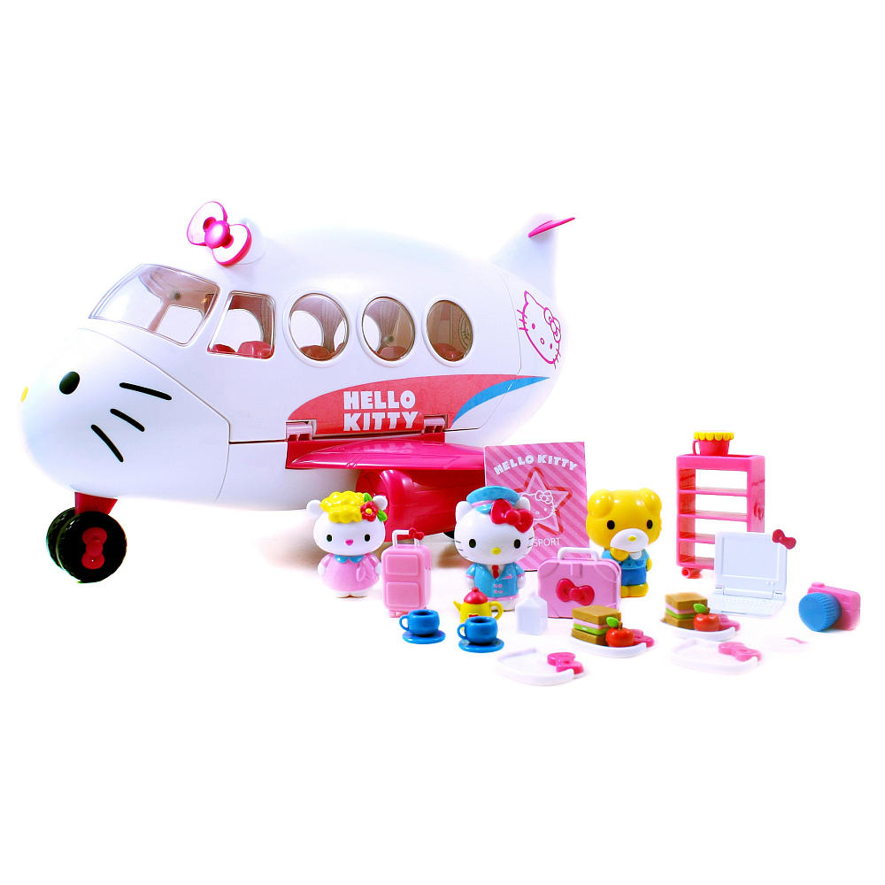 Hello Kitty Toys Set : Happy toys world hello kitty playset airlines