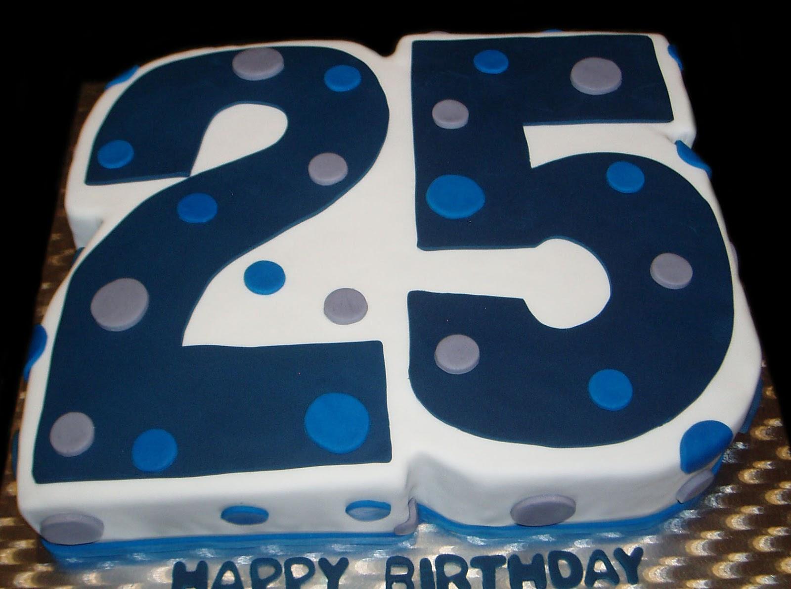 25 Birthday Spots Cake