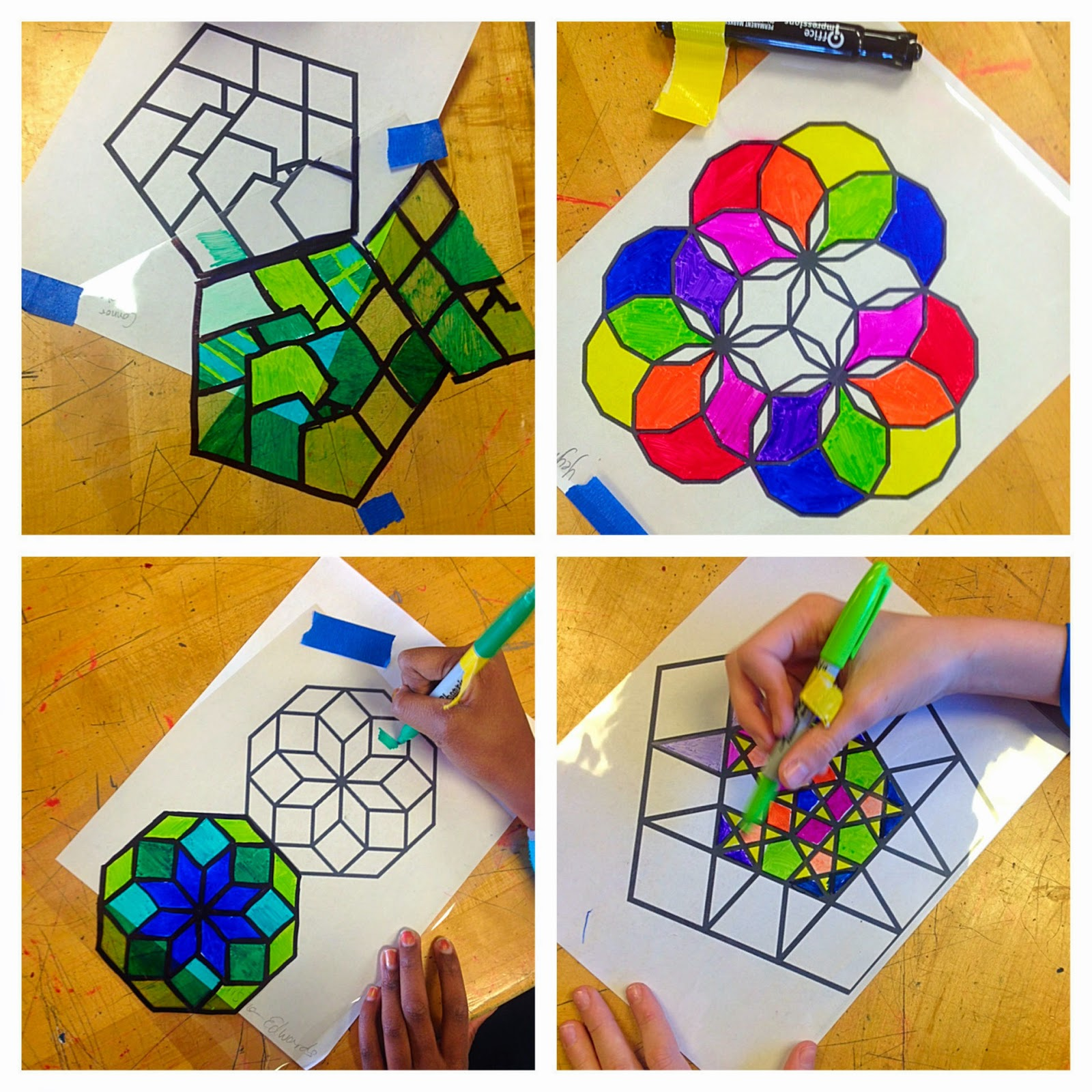 Middle School Lesson Islamic Design