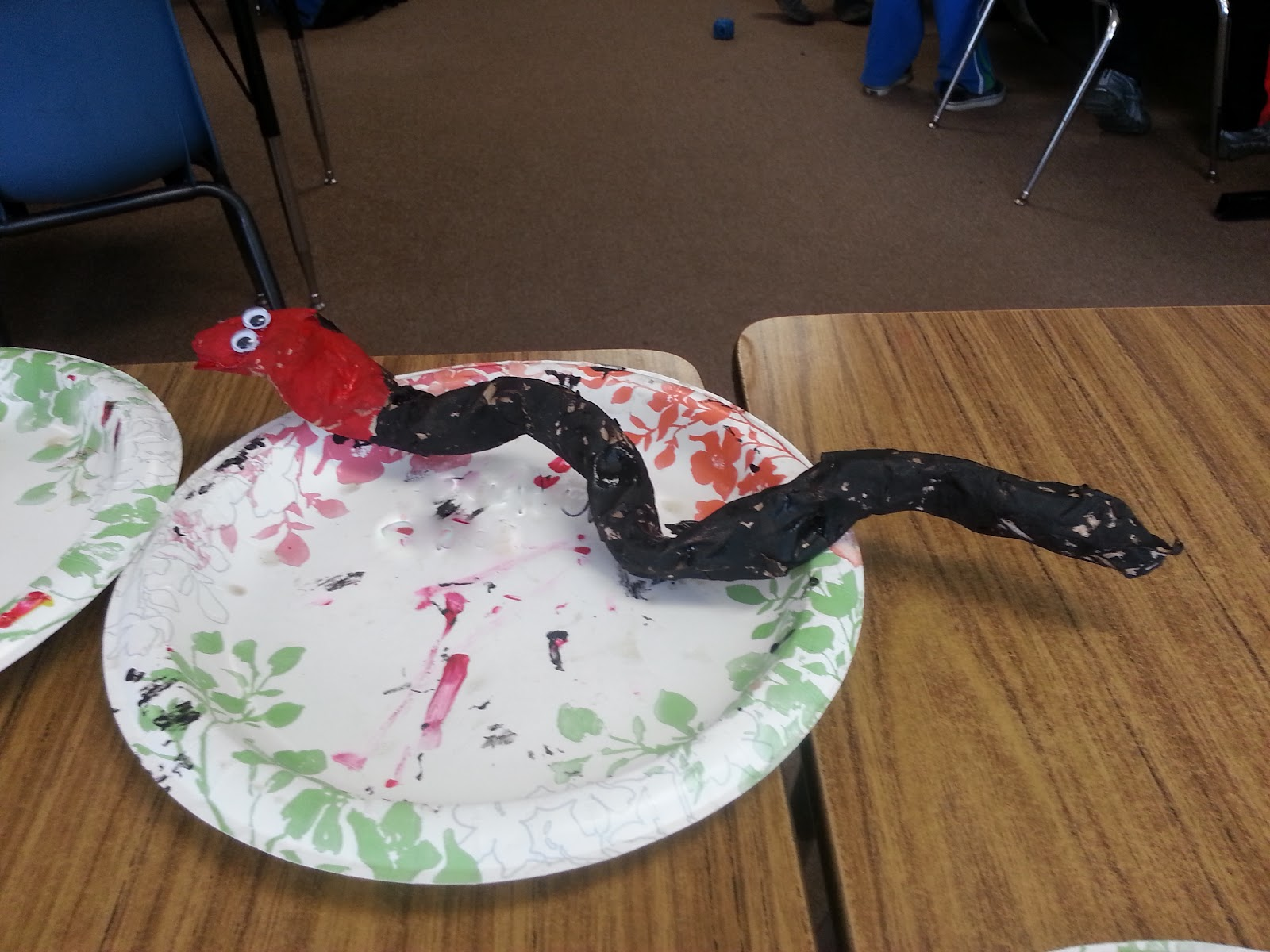 paper mache snakes choices for children