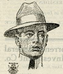 Detail, Welpton's menswear ad, The Bitterroot Valley Illustrated, May 1910