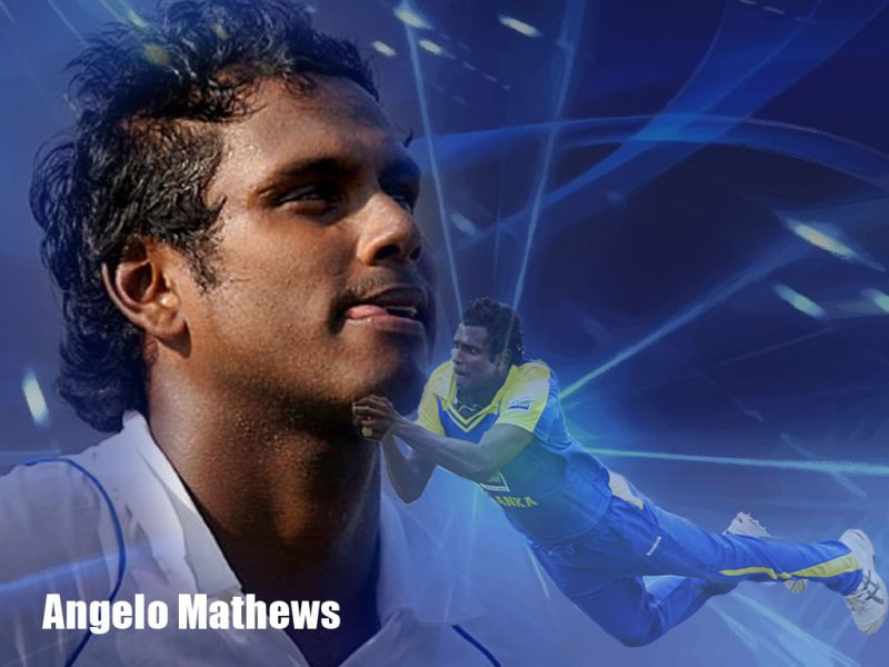 Angelo Mathews (Cricketer) playing cricket