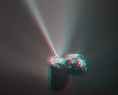 Rosetta Menemukan Molekul Oksigen Pada Komet 67P