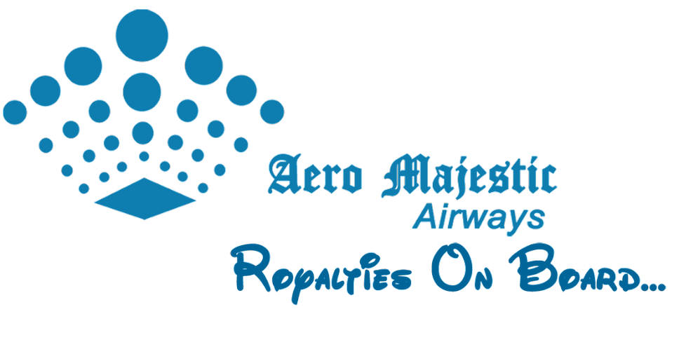 Aero Majestic Airways, Royalties On Board . . .