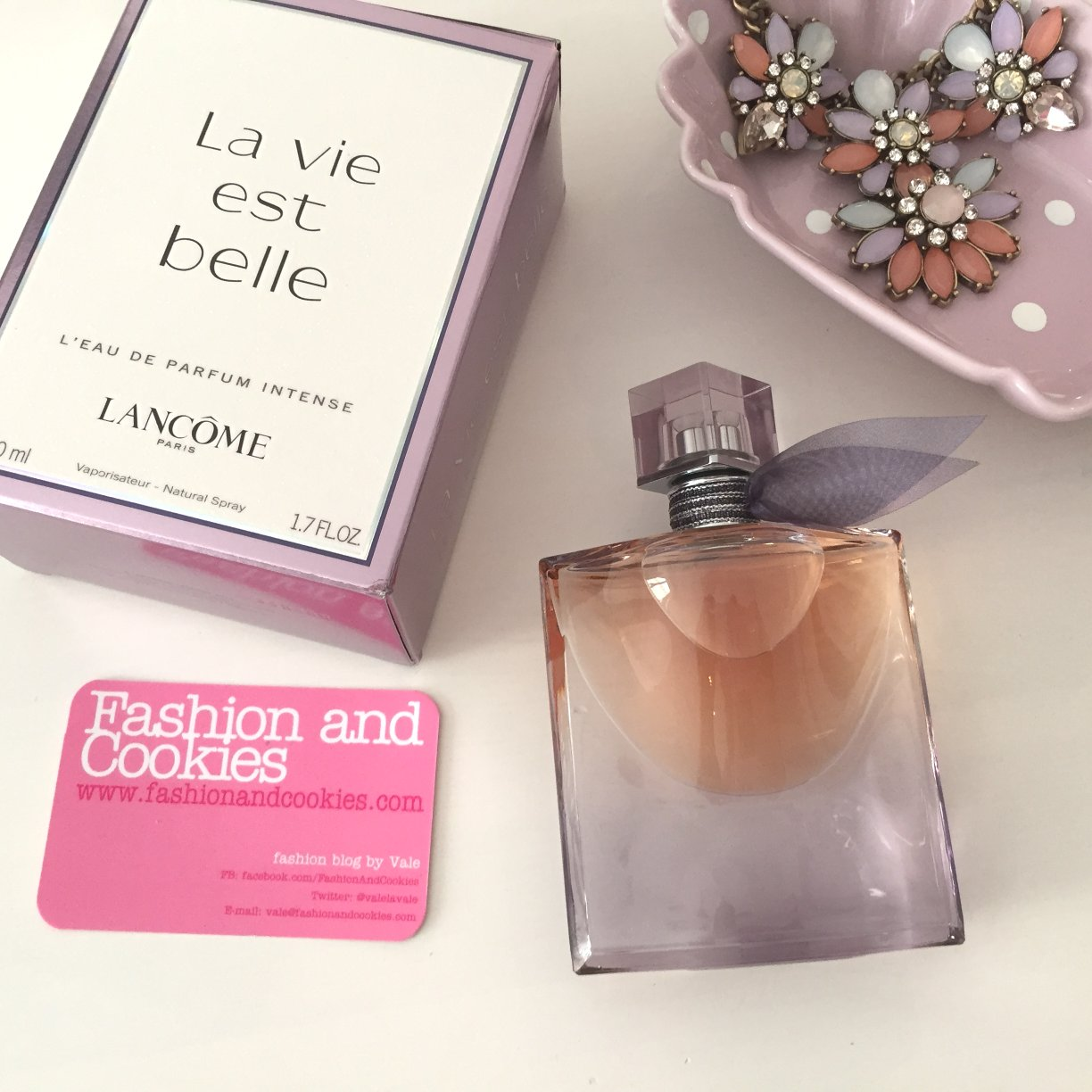Lancôme La Vie Est Belle, L'Eau de Parfum Intense on Fashion and Cookies fashion and beauty blog