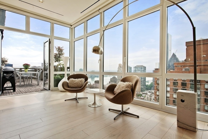 Chairs in Wolf of Wall Street Manhattan Apartment