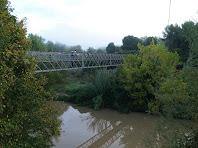 La Palanca de l'Ametlla de Merola sobre el riu Llobregat