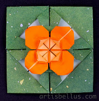 Mother's Day Card: New Origami Model and Video