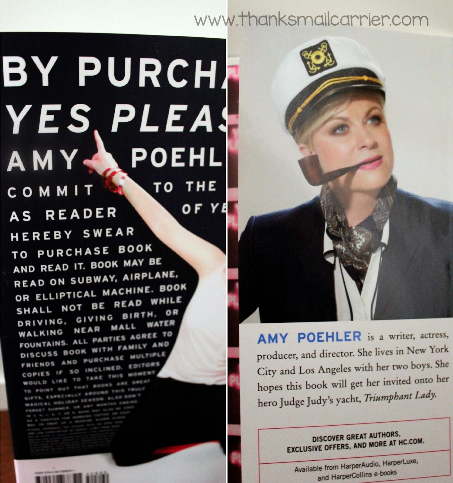 Amy Poehler book