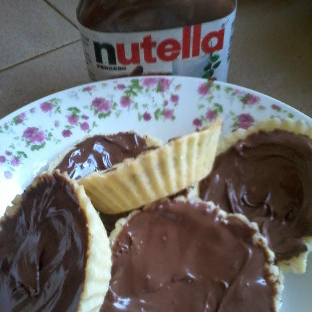 Resipi : Tart Nutella