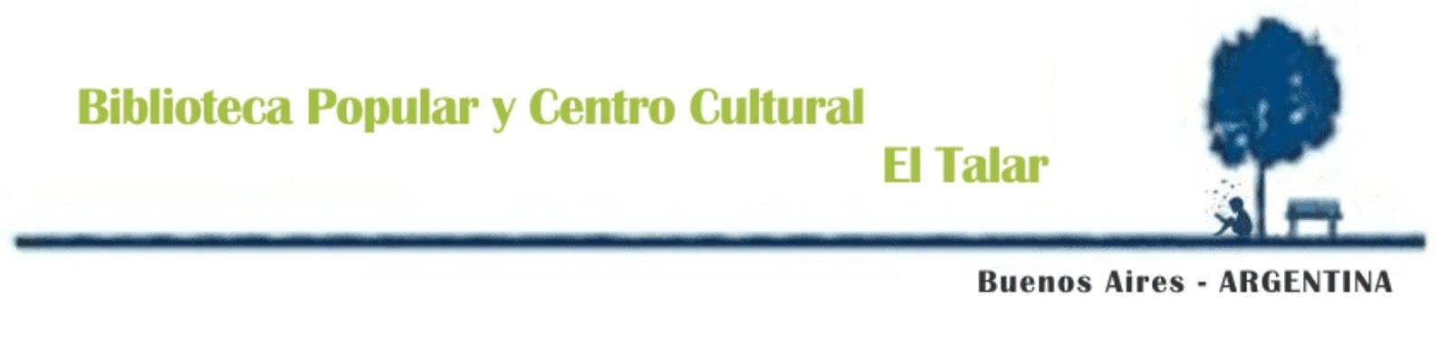 Biblioteca Popular y Centro Cultural El Talar
