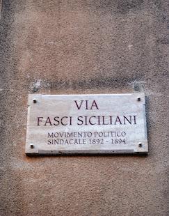 Finalmente Corleone ha via Fasci siciliani