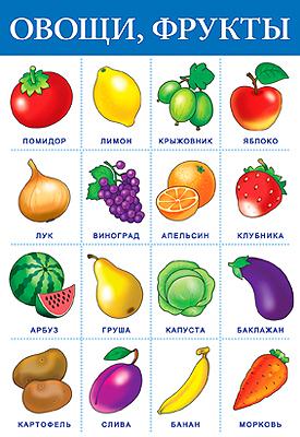Картинка корзина фруктов