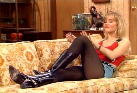 Kelly Bundy from the TV show Married with Children played by Christina ...