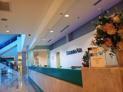 ERPOC di Columbia Asia Hospital, Bukit Rimau Kota Kemuning