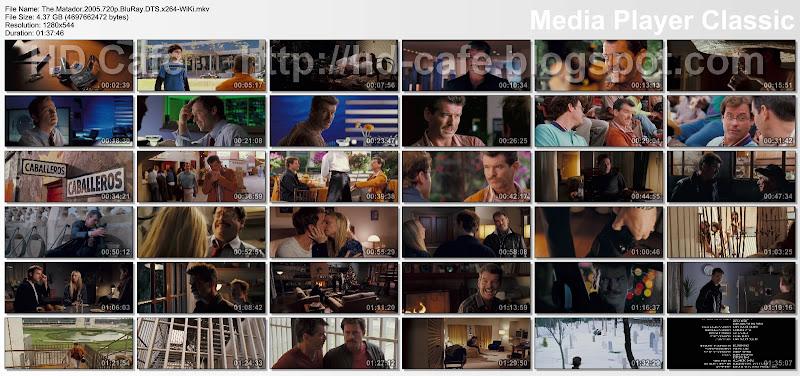 The Matador 2005 video thumbnails
