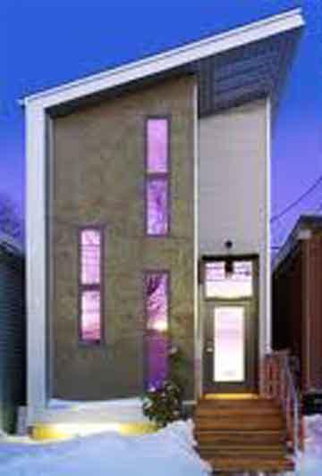 desain rumah minimalis untuk lahan sempit blog interior