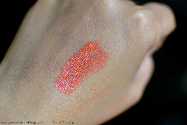 sephora pantone universe color of the year tangerine tango cream lipstick orange makeup reviews swatches beauty blog fotd looks