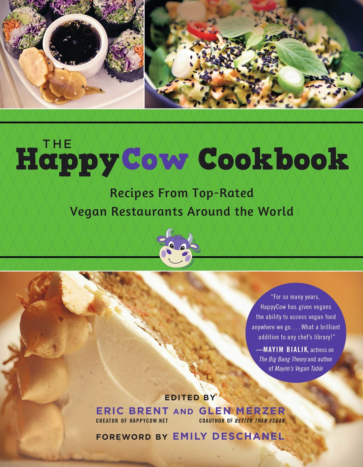 The HappyCow Cookbook (#Vegan)