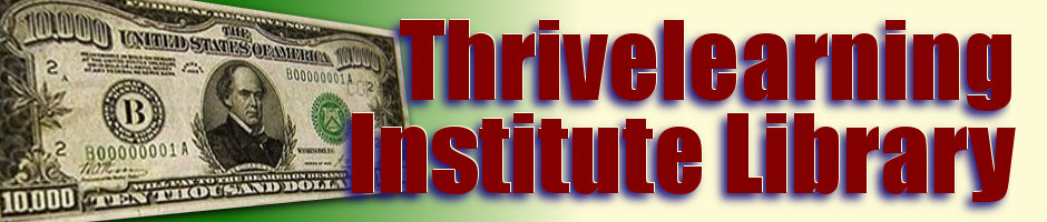 The New Thrive Learning Institute Library
