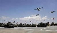 Επιδεικτικές κινητοποιήσεις του στρατού κατοχής προβληματίζουν τους επιτελείς του ΓΕΕΦ