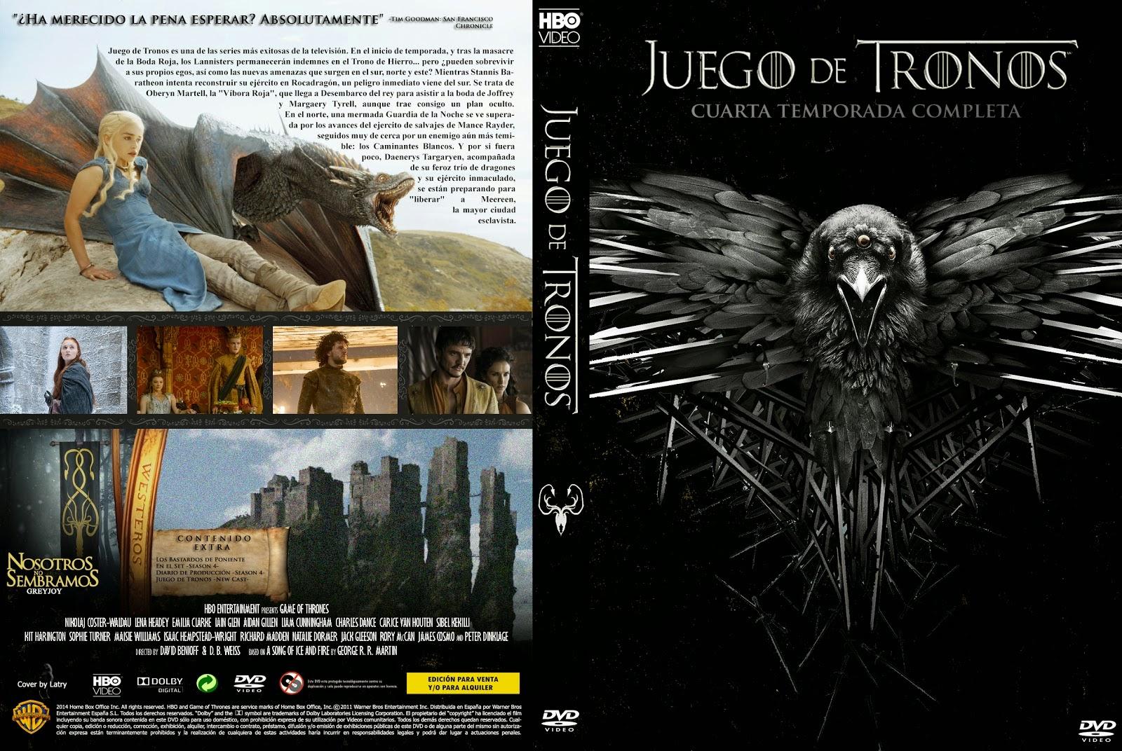 SERIES TV: JUEGO DE TRONOS - CUARTA TEMPORADA