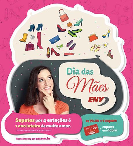 Participar da promoção Eny Calçados dia das mães 2015