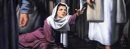 Jesus Cura Mulher com Fluxo de Sangue