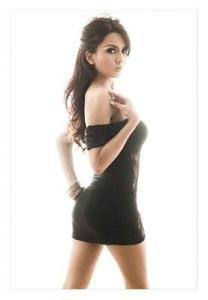 Anggita Sari, Model Cantik Bertoket Montok