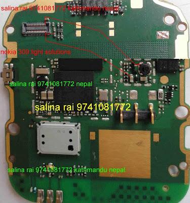 Nokia Asha 308, 309,310 Lcd Light Solution