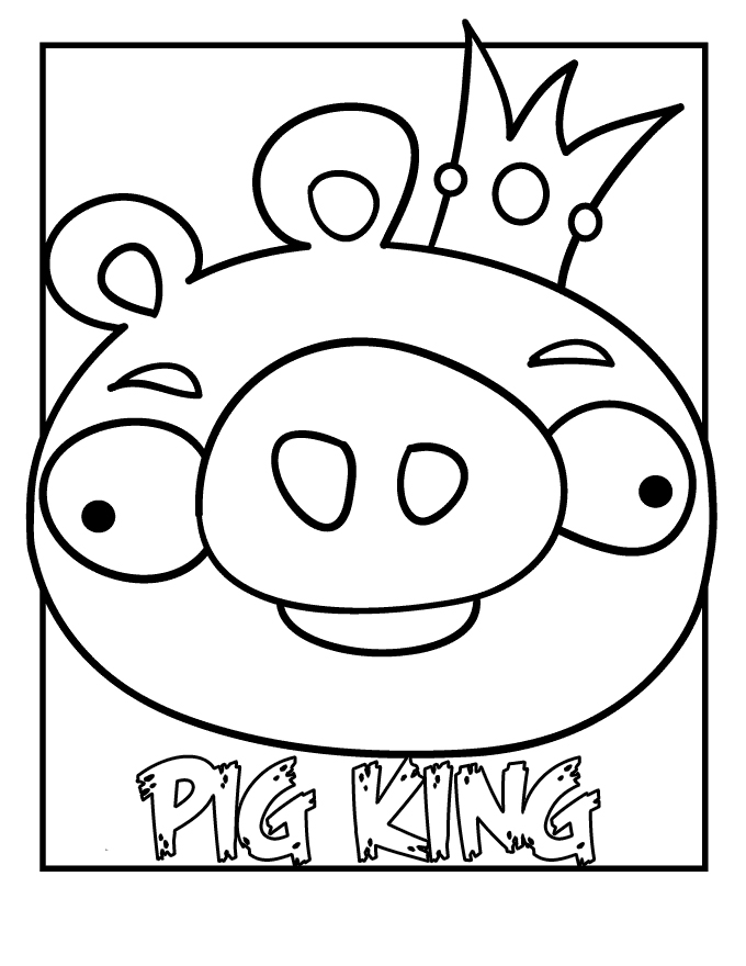 Free Printable Coloring Pages Cool Coloring Pages Angry Angry Birds Coloring Pages For