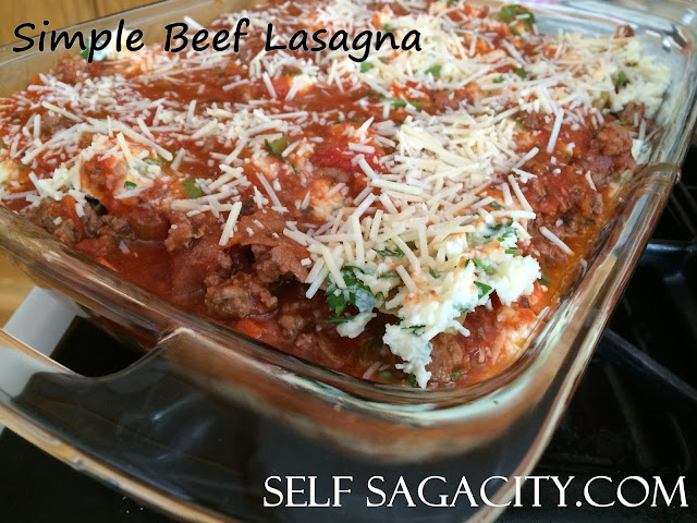 Beef Lasagna Recipe Freezer Meal