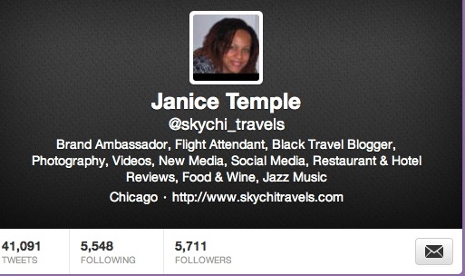 "Janice Temple ""SkychiTravels"""