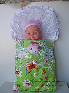 Конверт для куклы