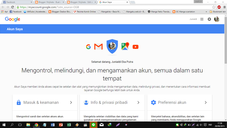 Shijikata: Cara Mengaktifkan Keamanan di Akun Gmail