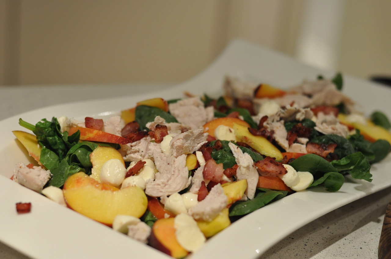 In the Wilkins house...: Poached Chicken Summer Salad