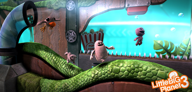 Little Big Planet 3 Footage