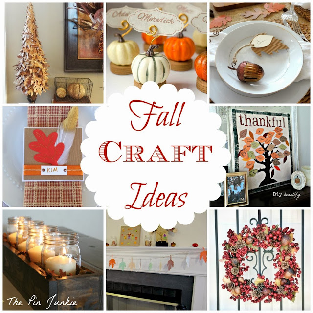 Fall Autumn Craft Ideas
