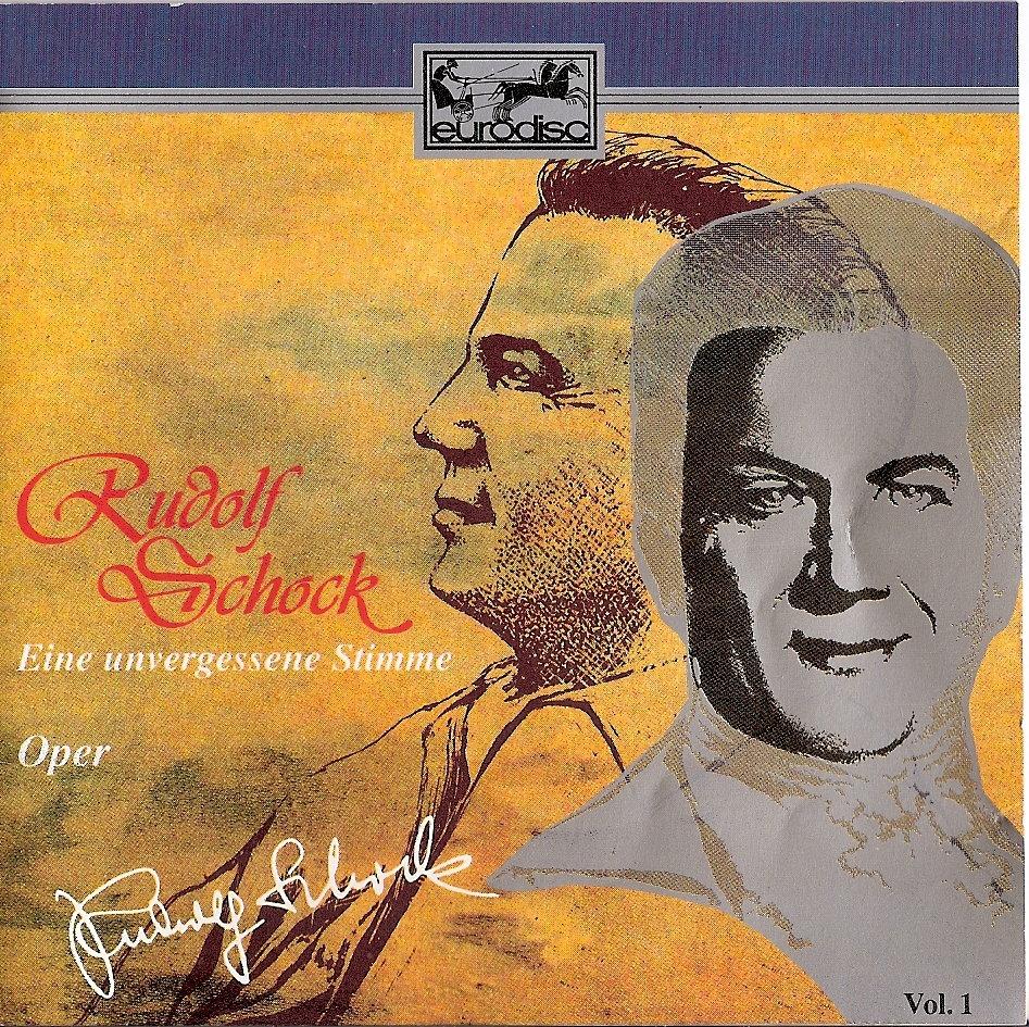 Rudolf Schock Album Cover