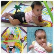 Aleesya 5 month